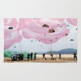 parachute rose Rug
