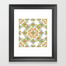 Starflower Blossoms Framed Art Print
