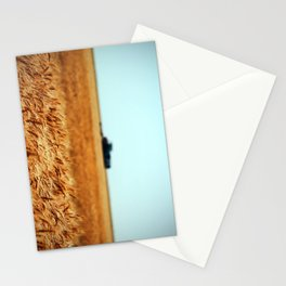 Golden Crop Stationery Cards