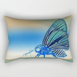 Azul Mothra Rectangular Pillow
