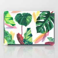 palm iPad Cases featuring PALM by Ellie Cryer