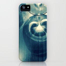 Pea-cocktail iPhone Case