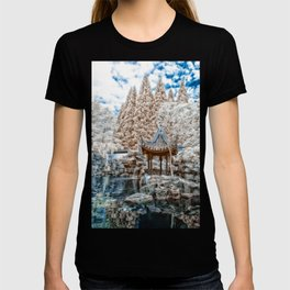 Chinese Garden Infrared T-shirt