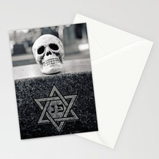 Graveyard skull Stationery Cards