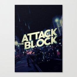 'Attack the Block' film poster Canvas Print