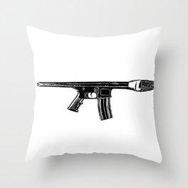 Art War Throw Pillow