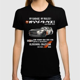 Crazy Car Art 0125 T-shirt