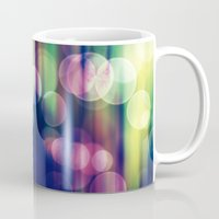magical girl Mugs featuring Magical Girl Blue by Misi