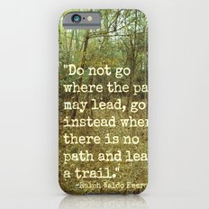Blaze Your Own Trail iPhone 6s Slim Case