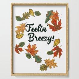 Feelin' Breezy! Serving Tray