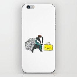 Business Badger iPhone Skin