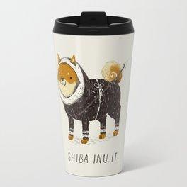 shiba inu-it Travel Mug