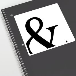 Typography, Ampersand, And Sign Sticker