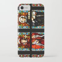 stained glass iPhone & iPod Cases featuring Stained glass by Marieken