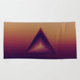 Geometric Abstraction Beach Towel