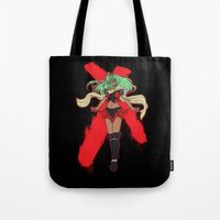 android Tote Bags featuring The Android by CaptainSunshine