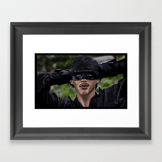 Life is pain, Highness. Framed Art Print