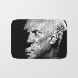 Pablo Picasso Cubism Collage Bath Mat