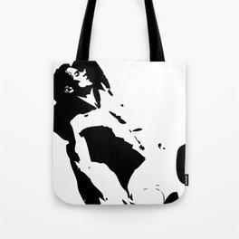 Homme en noir – risqué   黑衣人 – 穢 Tote Bag