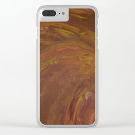 FIRE ARCHES Clear iPhone Case