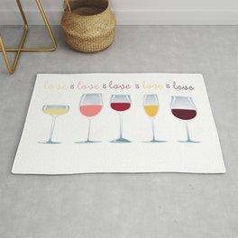 Love is Love is Love is Wine Rug