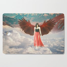 Lady of the Clouds Cutting Board