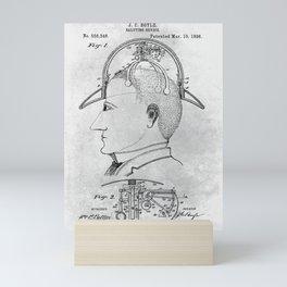 Saluting device Mini Art Print