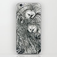owls iPhone & iPod Skins featuring Owls by Irina Vinnik