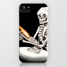 Skelly Flamerworker iPhone Case