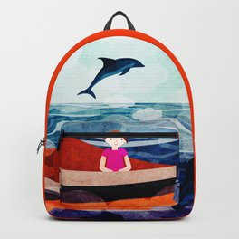 When dolphins are around 9 Backpack