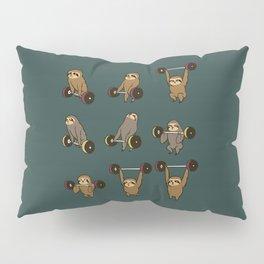 OLYMPIC LIFTING SLOTHS Pillow Sham