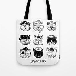 Ocean Cats Tote Bag