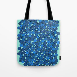 Summer Blueberries Tote Bag