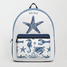 Starfish Tide Pool habitat Backpack