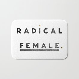 Radical Female Bath Mat