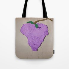 Killer Grapes  Tote Bag