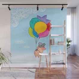 Up and Away Wall Mural