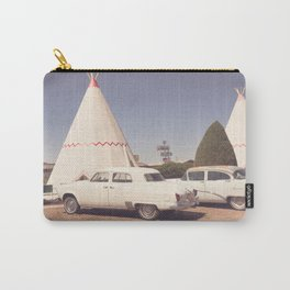 Sleep at the Wigwam Carry-All Pouch
