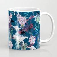jurassic park Mugs featuring Jurassic Park by Bobo1325