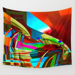 restricted view Wall Tapestry
