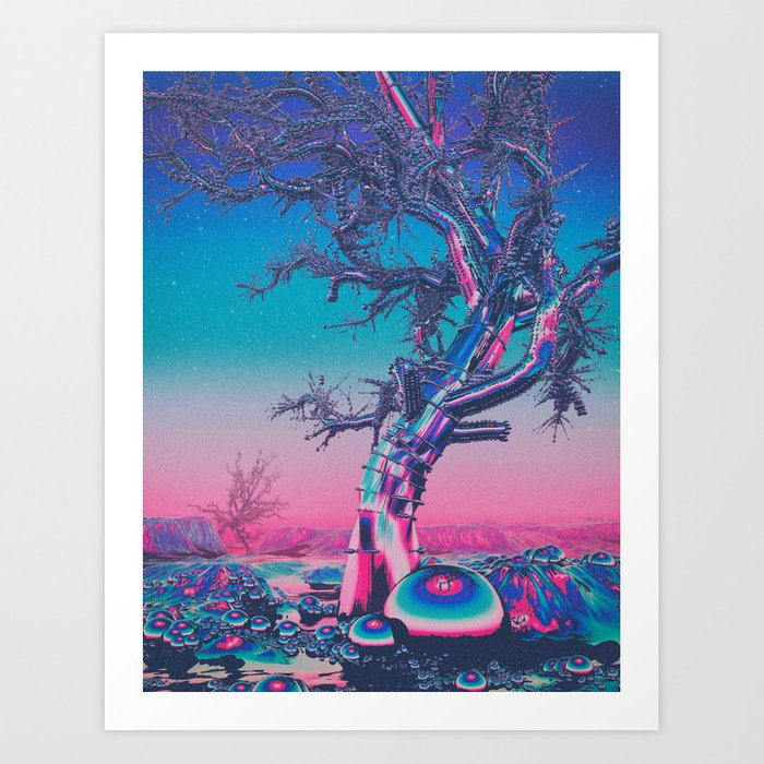CRHOMETRE (everyday 06.04.16) Art Print