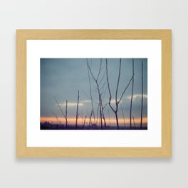 Dreamy Sunrise Framed Art Print