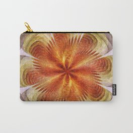 Senores Au Naturel Flower  ID:16165-061704-49220 Carry-All Pouch