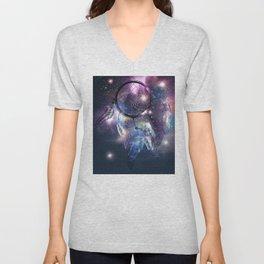 Cosmic Dreamcatcher design Unisex V-Neck