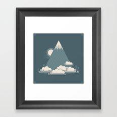 Cloud Mountain Framed Art Print
