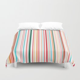 WHY CAN'T BARCODES BE COLORFUL? Duvet Cover