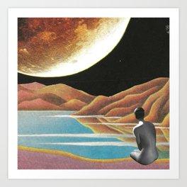 Saluti dall'altro cosmo Art Print