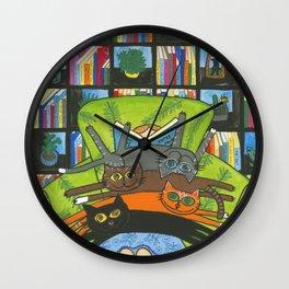 Lap Real Estate Wall Clock