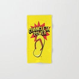 Chancleta Power Brand Hand & Bath Towel