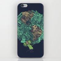 katamari iPhone & iPod Skins featuring Prince Atlas by Hector Mansilla